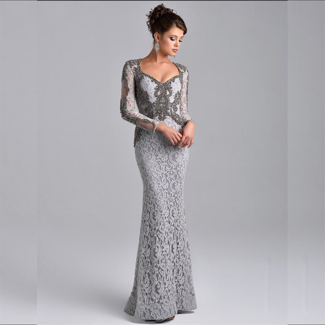 Full Sleeve Mother of the Bride Dresses