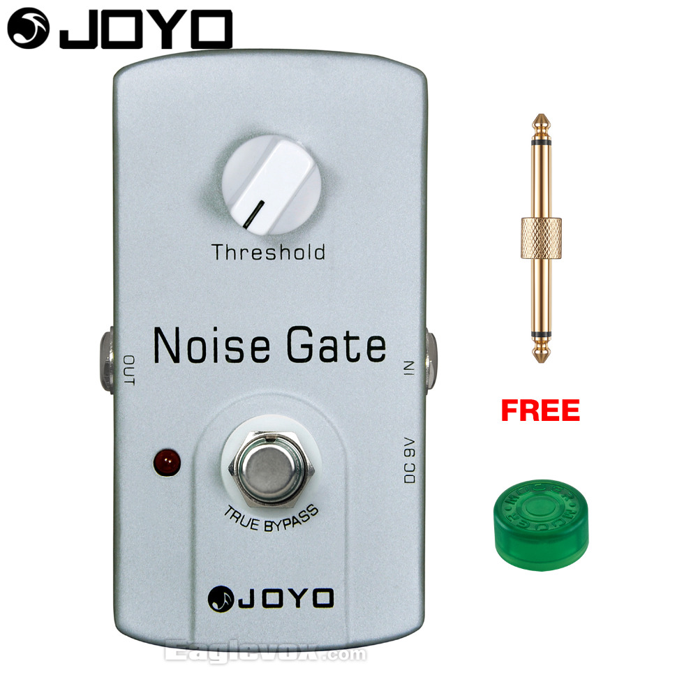 JOYO Noise Gate Electric Guitar Effect Pedal True Bypass JF-31 with Free Connector and Footswitch Topper mooer ensemble queen bass chorus effect pedal mini guitar effects true bypass with free connector and footswitch topper