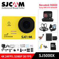 SJCAM SJ5000X Elite WiFi 4K 24fps 2K 30fps Gyro Sports DV 2 0 LCD NTK96660 Diving