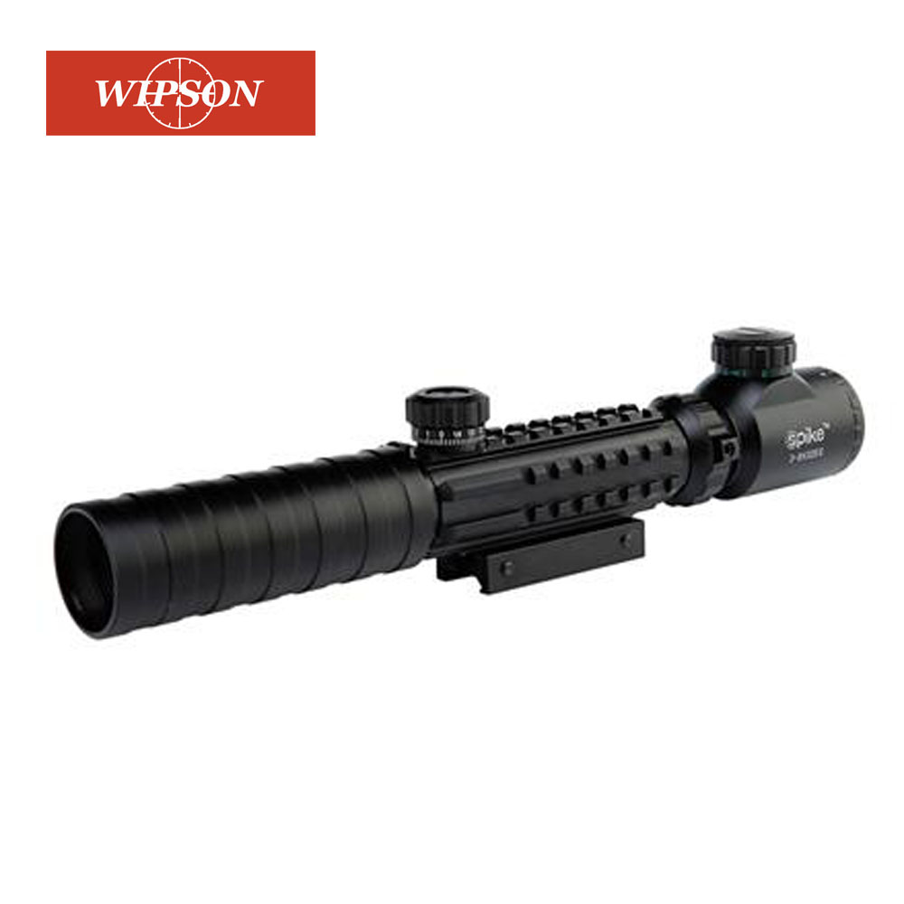 WIPSON B Brand 3-9x32 EG Hunting Scope Red /Green Dot Illuminated Sight Tactical Sniper Scopes W/22mm For Air Gun
