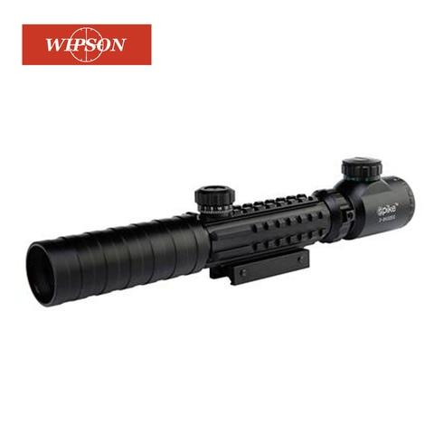 wiinson b marca 3 9x32 por exemplo caca escopo vermelho verde ponto iluminado vista tatico