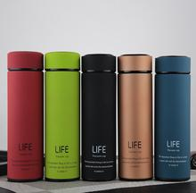 500ML Bpa-free Insulated vacuum flasks tea infuser water bottle double wall travel stainless steel kettle thermos thermals cup
