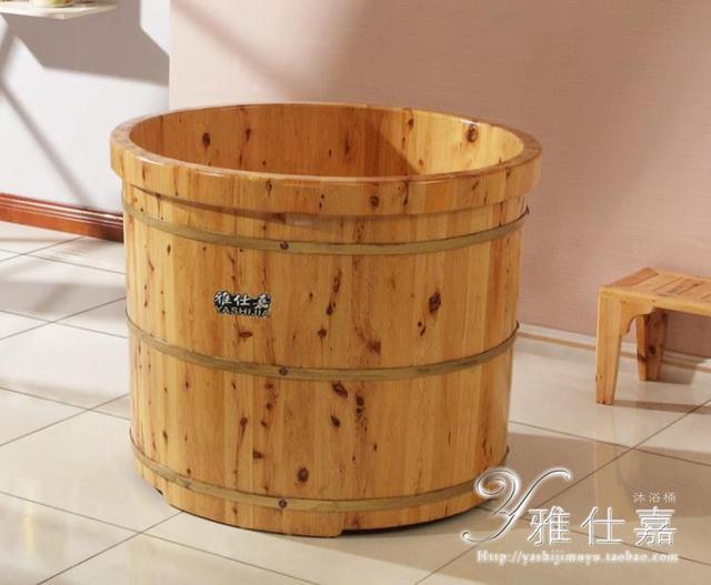 Cedar barrel bath barrel bath bucket bath bucket bathtub small m 013 ...