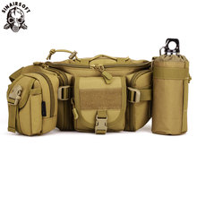 SINAIRSOFT Outdoor Camping Mountaineering bag Tactical Molle Bag Waterproof Hiking Fishing Sport Hunting Combination Waist Bags