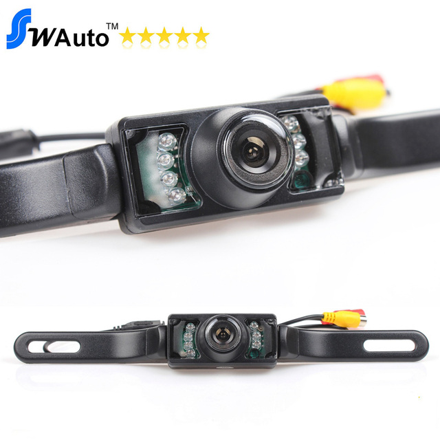 Car Rear Camera 7 IR Night Vision Backup Camera  Reverse Car Camera  for GPS/DVD/Monitor Optional(Wireless,Monitor,Mirror)