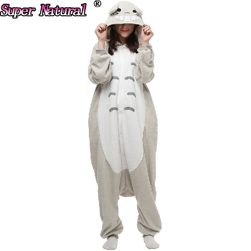 Big On Sale SA Material Women Men Animal Totoro Eeyore Blue Donkey Kigurumi Pajamas Onesies Cosplay Costume Hooded Sleepwear