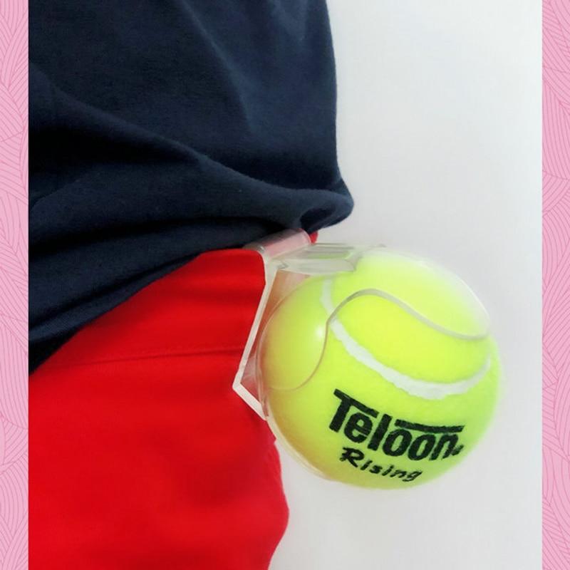 1pc ZARSIA Tennis Ball Holder Clips Gripper Plastic For Outdoor Tennis Training Sport