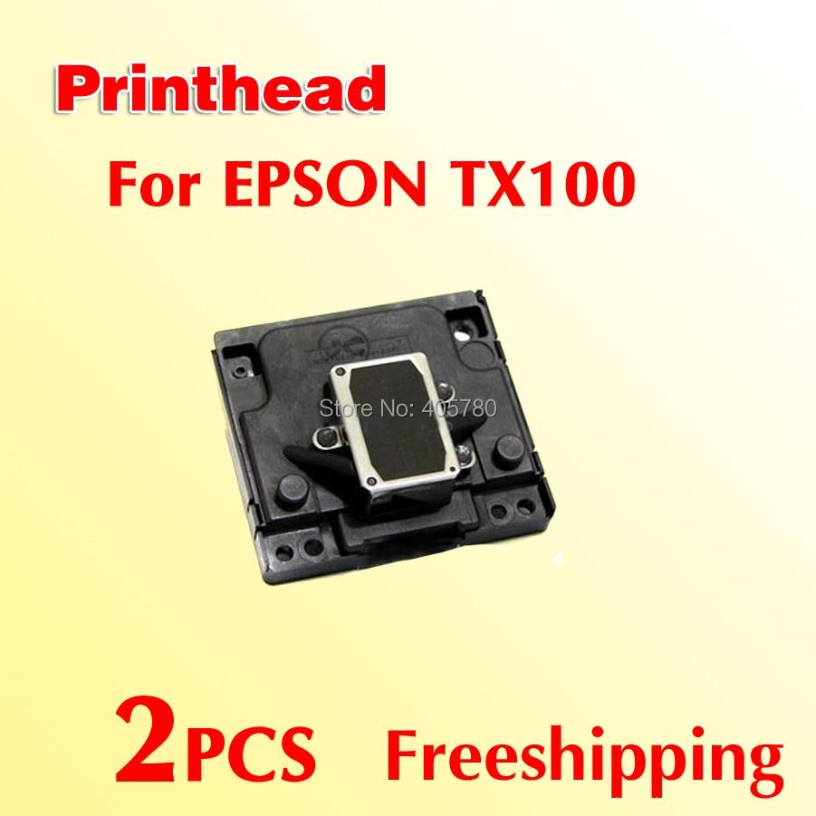 ФОТО 2pcs TX110  Printhead compatible for EPSON TX100 TX110 TX105 freeshipping