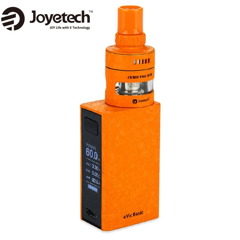 Original Joyetech eVic Basic with Cubis Pro Mini Starter Kit E-cig Evic Basic Battery 1500mAh & 2ml Cubis Pro Mini Tank Atomizer цена 2017
