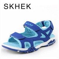 SKHEK Brand Kids Ssandals Children S Children Shoes Summer Boys New Boys Fashion High Quality Leather