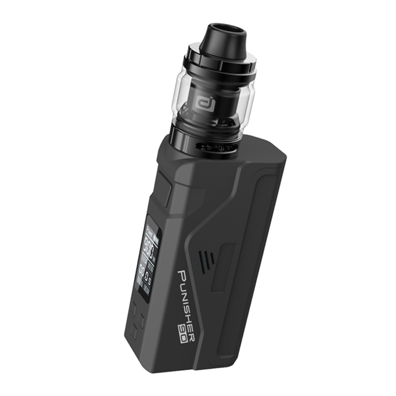 Original Dovpo Punisher 90W Kit Electronic Cigarette 21700 20700 18650 Battery Mod with 3 0ml DJ