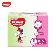 Подгузники Huggies для девочек Ultra Comfort 12-22 кг (размер 5) 105 шт