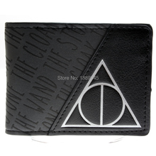 Harry Potter wallet Young men and women students animated cartoon short fashion purse DFT-1307(China (Mainland))