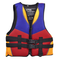 2017 NEW Red Blue Orange Water Life Jacket Vest Size S for Children