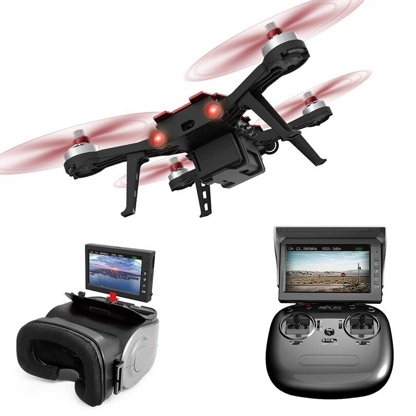 MJX Bugs 8 Pro B8 B8PRO course Drone RC sans brosse haute vitesse avec caméra 5.8G HD 720 P FPV hélicoptère RC traversant Drone