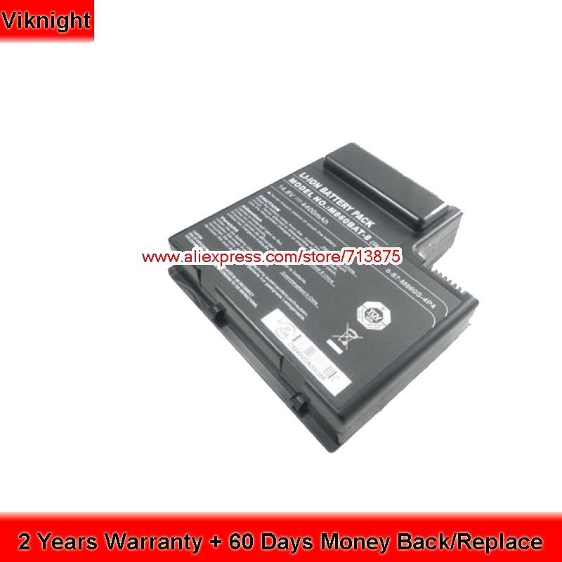 M860BAT-8 Battery for Clevo M860TU M860ETU 6-87-M860S-454 6-87-M860S-4P4 genuine n350bat 9 6 87 n350s 4d8 battery for clevo n350bat 9 11 1v 93wh