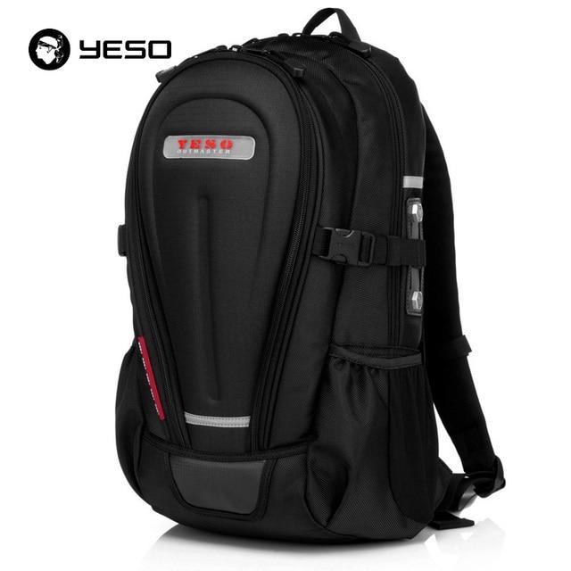 YESO Multifunction Laptop Backpack Men Rucksack Hard Shell Armor ...