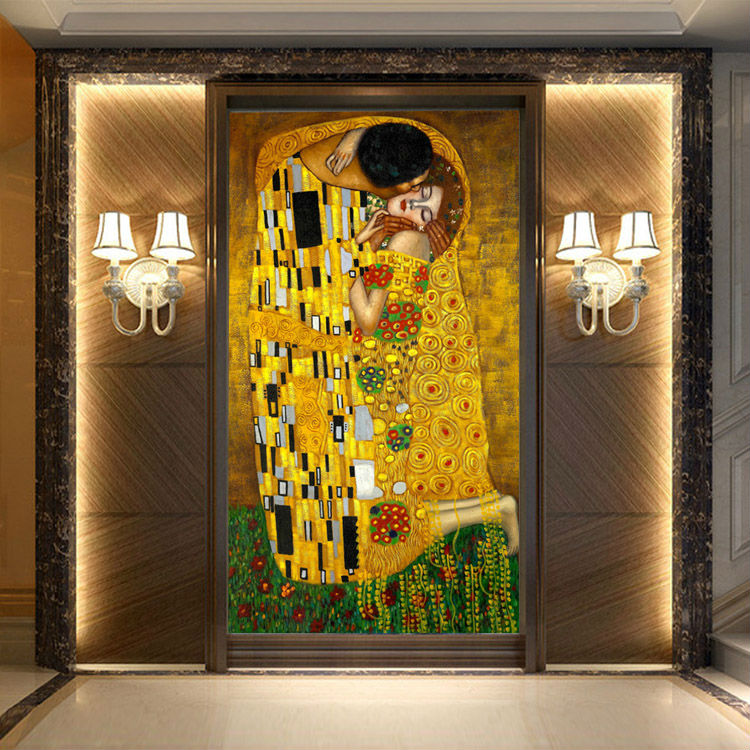 Klimt The Kiss Wallpaper
