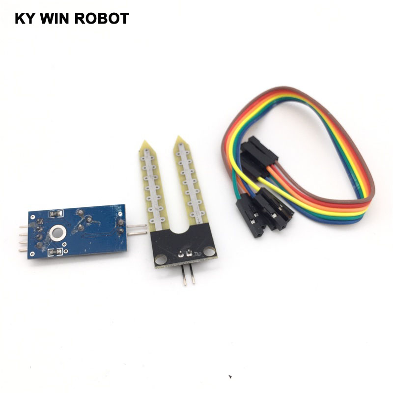 Intelligente Elektronik Bodenfeuchte Hygrometer Erkennung Feuchte-sensor-modul Development Board DIY Robot Smart Auto Für Arduino