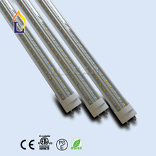 Купить с кэшбэком 500 Pack ETL listed T8 v-shaped LED Tube Light 24W-48W ballast bypass Fluorescent beer cooler bulb replacement
