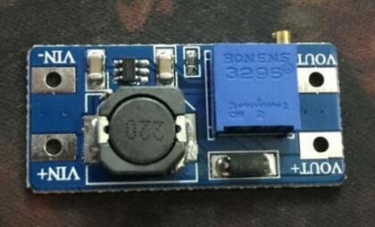 MT3608 DC-DC Adjustable Boost Module 2A Boost Step Up Module with MICRO USB 2V - 24V to 5V 9V 12V 28V LM2577
