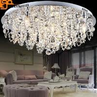 Новый дизайн, современные светодиодные люстра потолочных светильников домашний свет люстры де cristal лампе