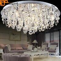Новый светодио дный дизайн Современные светодиодные люстры потолочные светильники дома свет люстры де cristal лампе