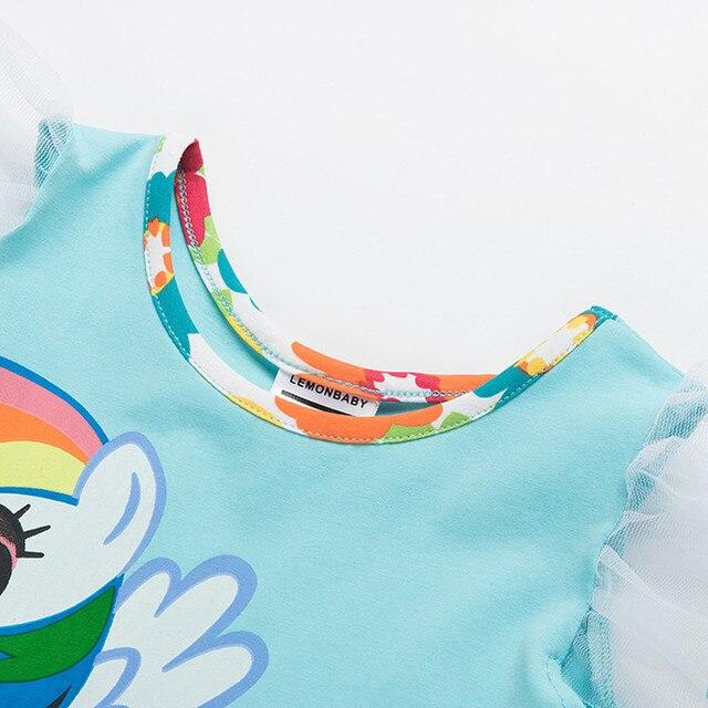 Cute Unicorn Multi Layered Dress