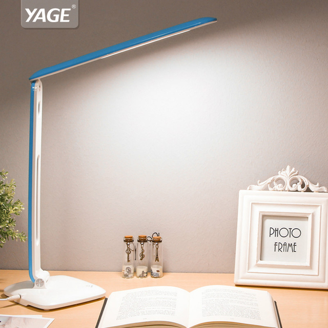 YAGE Настольная Лампа Свет книга ночник чтения света Свет для Исследования Лампы Не Предел Яркость Порт Простой элегантный YG-5940