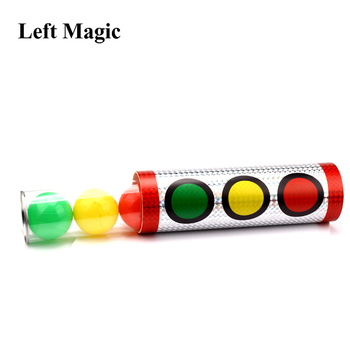 Miracle Balls Magic Tricks Traffic Lights Color Change Stage Magic Props Illusion Gimmick Mentalism Classic Toys G8239 dove cage disappears and lady appears magic tricks for professional magician stage illusion gimmick prop funny classic toys
