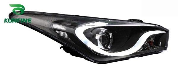 Paire de phares de voiture pour HYUNDAI HB20 2012 2013 2014 2015 pièces de phare de réglage feux de jour