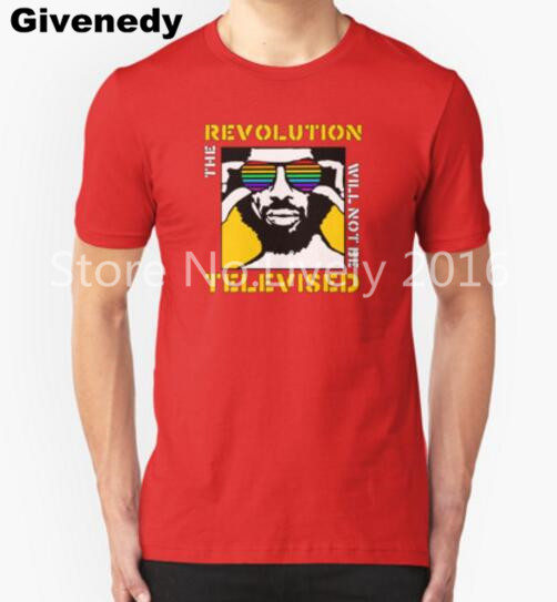 REVOLUTION WILL NOT BE TELEVISED GIL SCOTT HERON Mens & Womens Comfortable T Shirt