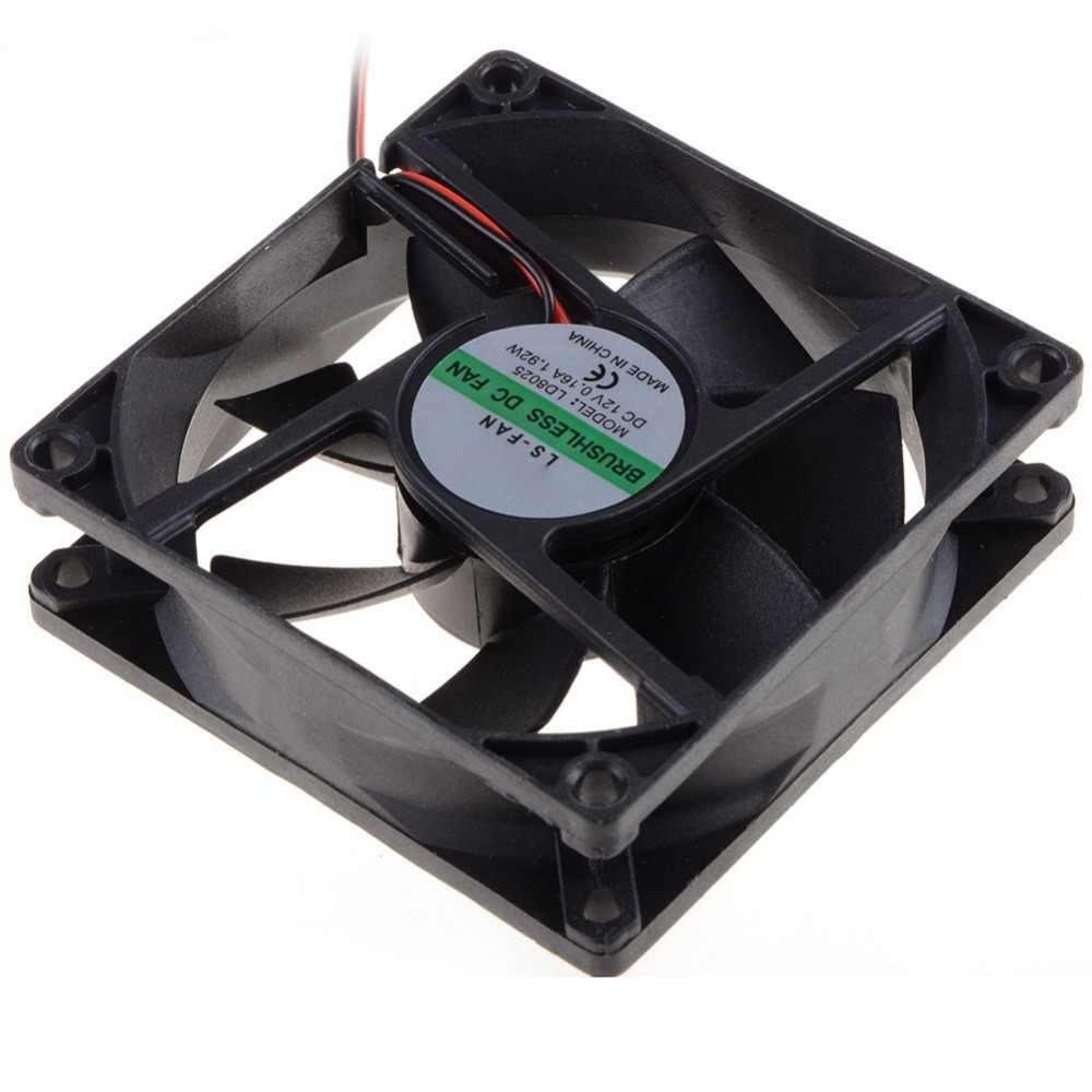 80*80*25 Mm PC Case Cooling Fan DC 12V 2200 Rpm 45 Cm Fan Kabel case PC Cooler Penggemar Kipas Komputer VCA81
