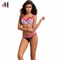 DA HAI 2017 Sexy Stripe Bikinis Women Swimsuit Push Up Swimwear Brazilian Bikini Beach Swimsuit XXL
