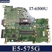 KEFU DAZAAMB16E0 Laptop motherboard for Acer Aspire E5-575G original mainboard I7-6500U