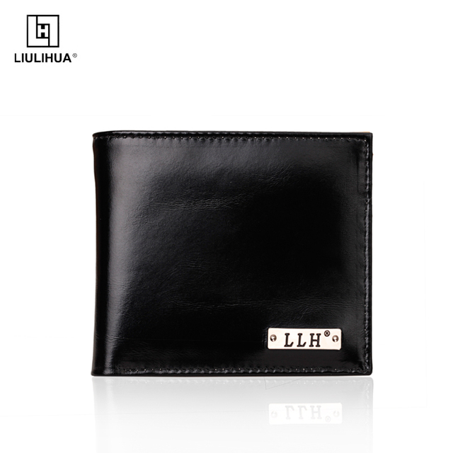 LLH new arrival fashion leather bifold wallet
