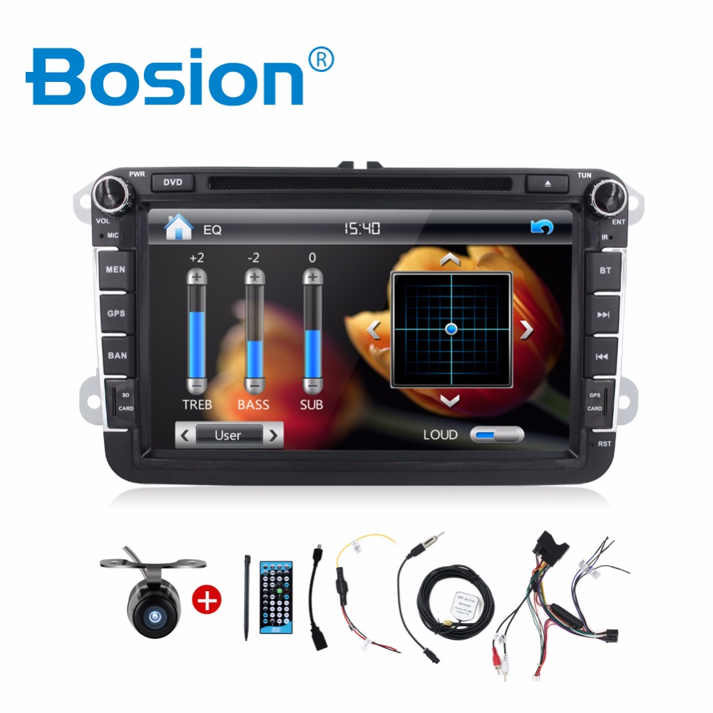 Hot sale 2 Din 8 Inch Car DVD Stereo Player For VW/Volkswagen/Passat/POLO/GOLF/Skoda/Seat With 3G USB GPS BT FM RDS Free Maps hot sale hot sale car seat belts certificate of design patent seat belt for pregnant women care belly belt drive maternity saf