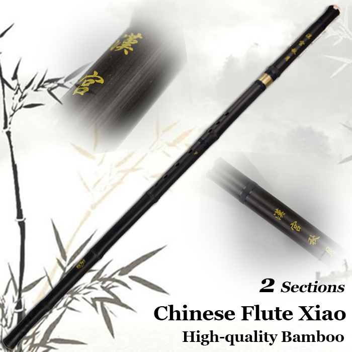 Chinese Vertical Bamboo Flute Xiao Ethnic Musical Instrument G/F Key dong xiao Hand Made Pipe Flauta 8 holes with Chinese Knot one set of brass flute xiao dizi top grade flute musical instrument with high grade aluminum flauta case for collection gift