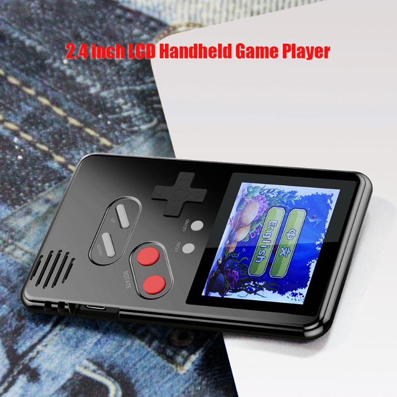 Retro Gaming Player Portable Mini Classic Console Built-in 168 Games 2.4 inch LCD For Handheld Game Players