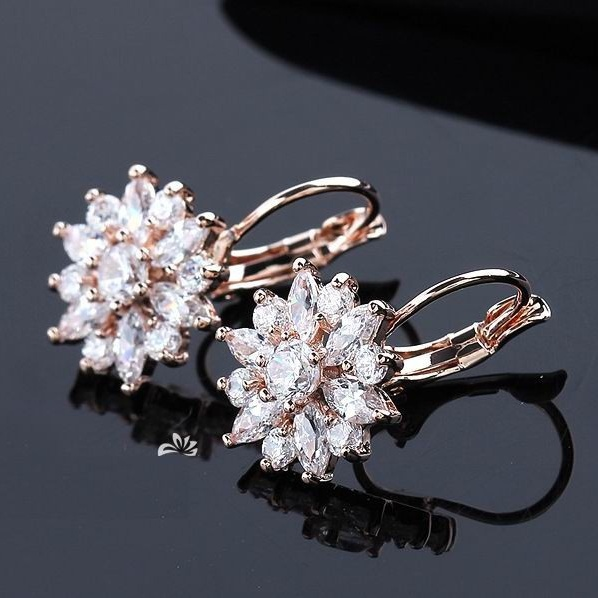 High Grade Hypoallergenic Perfect Rose Gold White Gold Champagne