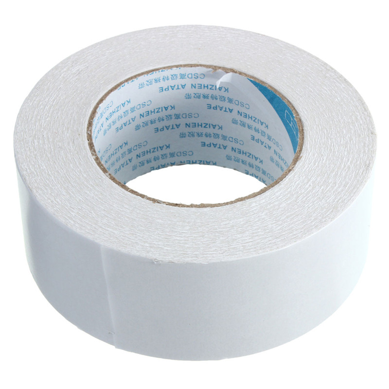 High Quality 48mmx50m Roll Transparent Clear Double Sided Self Adhesive Tape For Craft Hobby