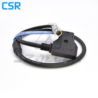 D Tap to 0B 2pin Cable for Teradek Bolt power cable, magicsky video link, Vaxis wireless image transmission power cord