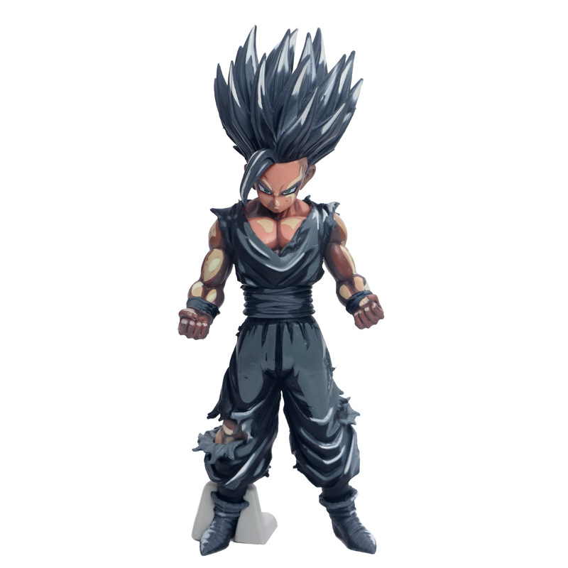 Anime Dragon BallZ MSP Chocolate Son Gohan PVC Action Figure Model Doll Toy Gift