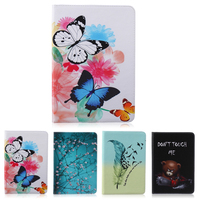 Fashion Painted PU Leather Stand Case For Samsung Galaxy Tab S 10 5 Case For Samsung