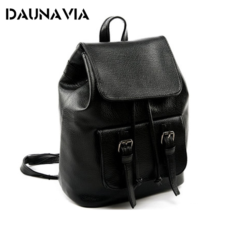 bolsos mujer de marca famosa 2017 Luxury Bag PU Backpack Back Pack Mochilas Mujer School Backpack