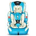 Moda Estilo Absorção de Choque Espessamento Do Bebê Assento da Segurança Do Bebê Portátil Auto Assento de Segurança do Assento de carro 9 meses-12 anos de idade Do Bebê C01