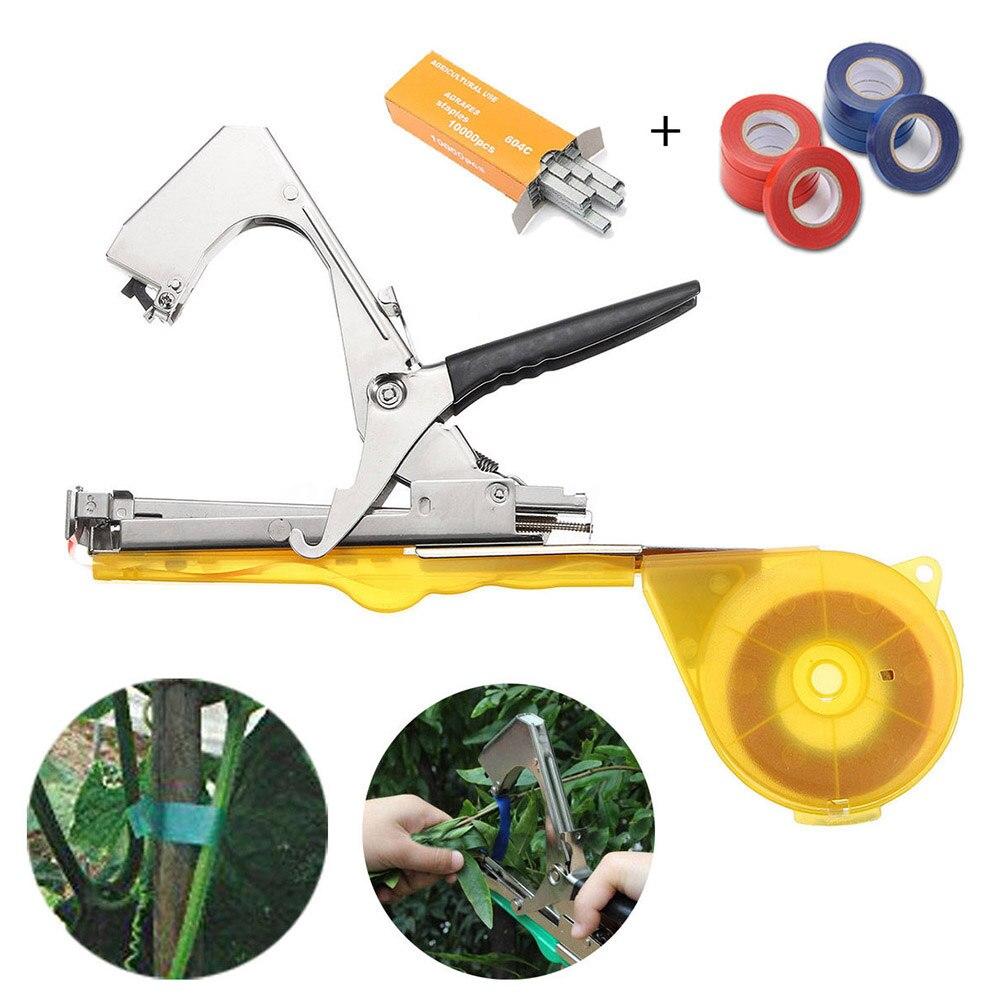Лоза отрасли связывая ленту галстук степлер ручной инструмент завод фрукты овощи детская обрезка инструменты ALI88