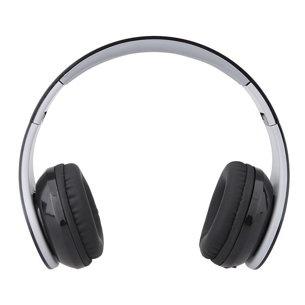 Dobrável Bluetooth Fones De Ouvido Sem Fio 4 em 1 fone de Ouvido Estéreo Fone de Ouvido Com MICROFONE Apoio Dois Telefones de Conexão Rádio FM Cartão De TF