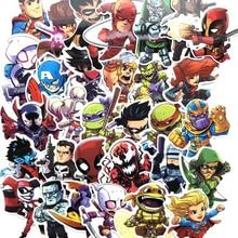 100 50 25 PCS No Repeating Mixed Cartoon Hero font b Toy b font Stickers Car