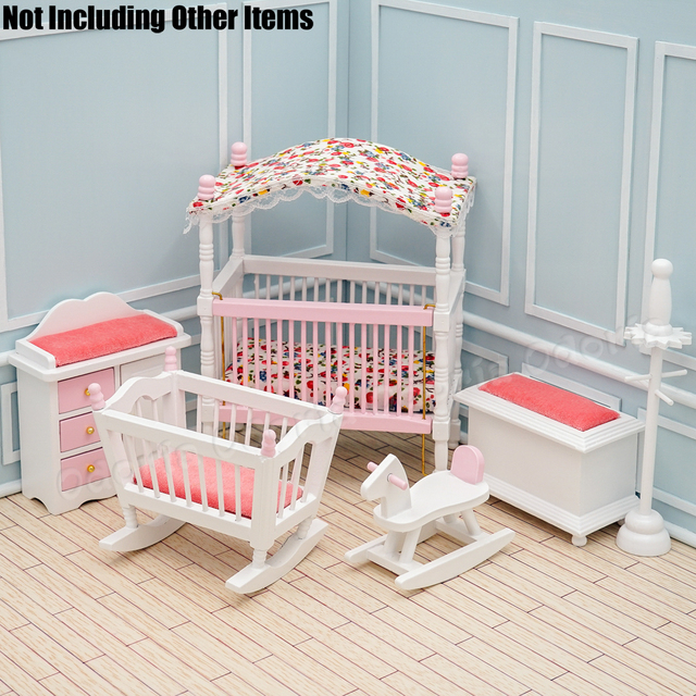 Odoria 1 12 Dollhouse Miniature Baby Nursery Room 6pcs Furniture Set Decoration